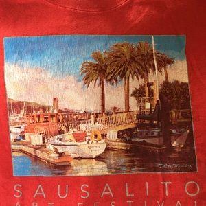 tshirt staff Sausalito California art festival